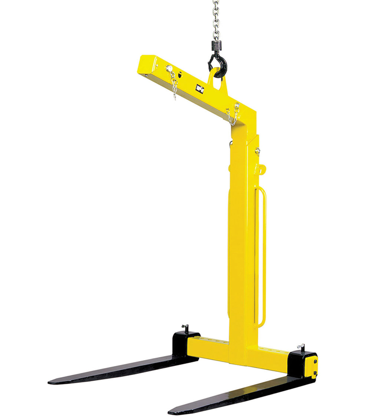 TKG-VHS 'Self Weight' Balance Crane Forks